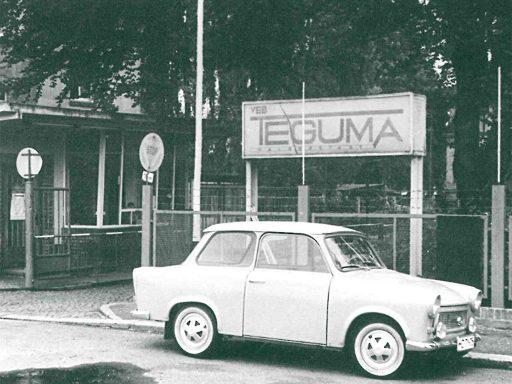 Teguma in den 50er Jahren